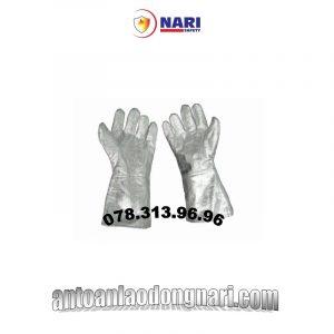 găng tay chống cháy chịu nhiệt tráng nhôm 700 độ