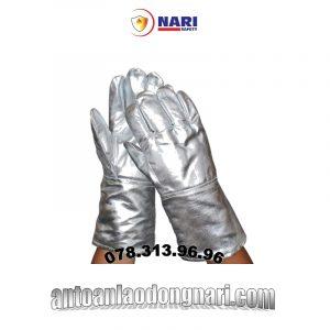 găng tay chống cháy tráng nhôm 700 độ