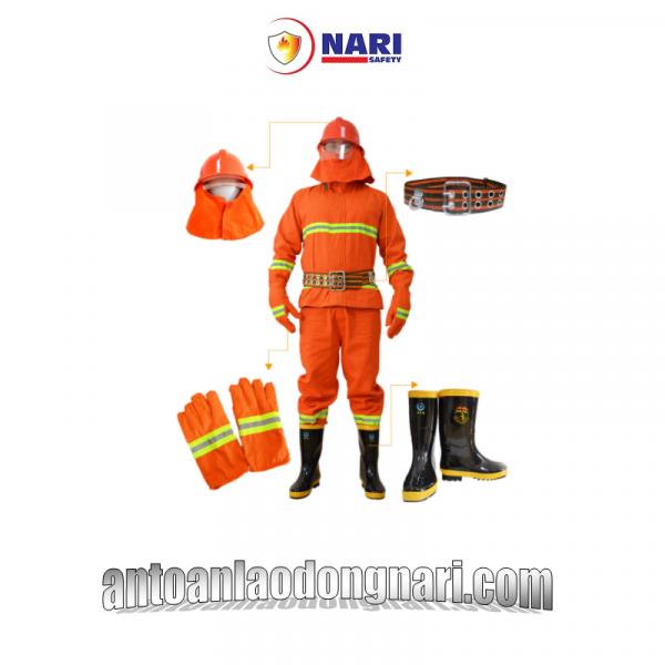 quần áo chống cháy nomex 300 độ màu cam hàn quốc