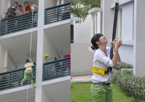 Dây hỗ trợ thoát hiểm tại nhà cao tầng