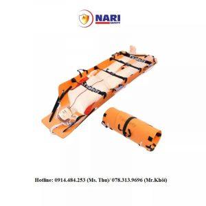 Sản phẩm có kích thước 254×86×0.5 cm. Có thể cuộn lại vô tình tiện lợi trong quá trình mang đi xa
